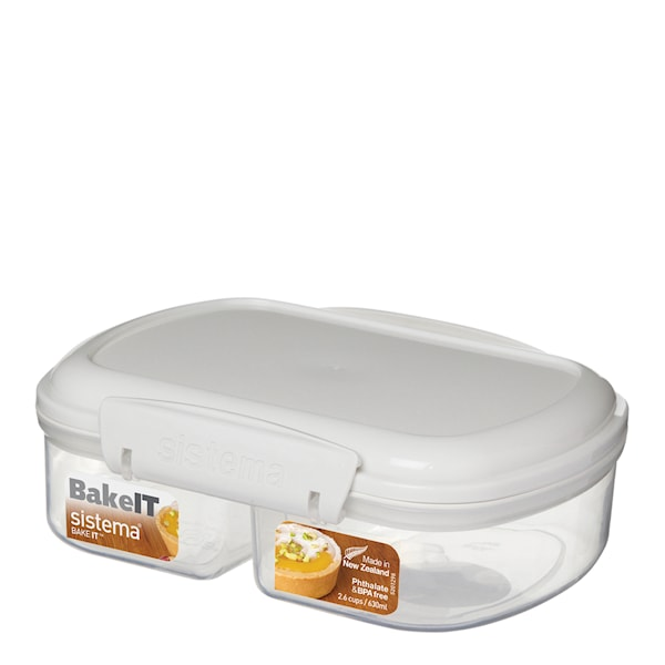 Sistema Bake It Split Förvaringslåda 630 ml