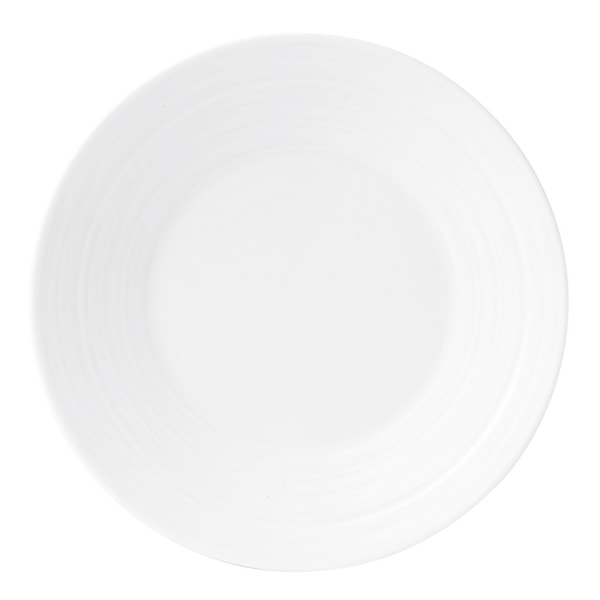 Wedgwood Jasper Conran Strata White Tallrik flat 18 cm