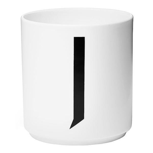 Design Letters Design Letters Mugg J Vit