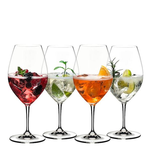 Barware Mixing Aperitivo Drinkglas 4-pack