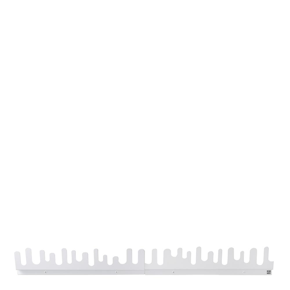 Design House Stockholm - Wave Hängare 2-pack  Vit