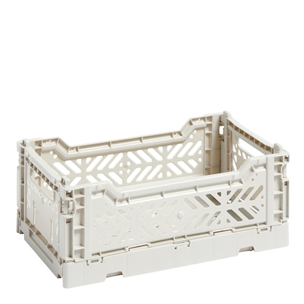 Hay Förvaringslåda Colour Crate S  Ljusgrå