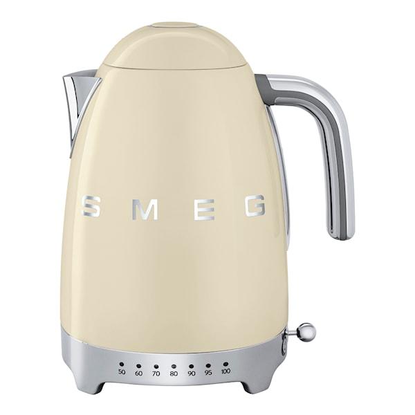 Smeg 50's Style Vannkoker regulerbar temperatur Creme