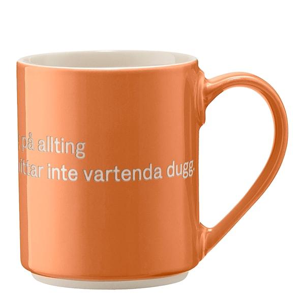 Astrid Lindgren Mugg Orange Det är ingen ordning