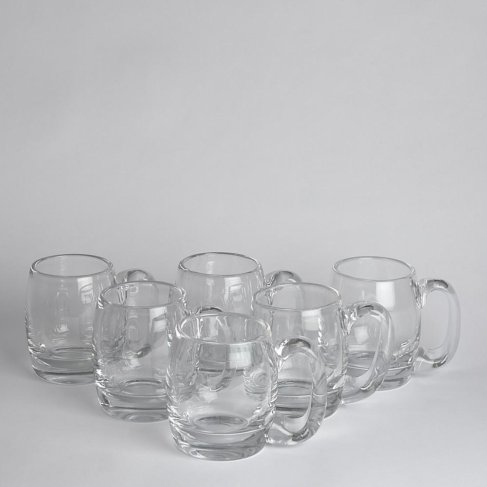 Kosta Boda - SÅLD Ölglas Bertil Vallien 6 st
