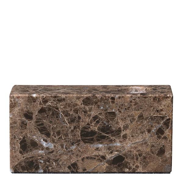 Bloc Ljusstake Marmor
