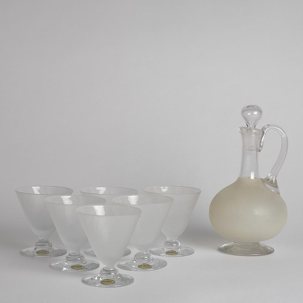Reijmyre Glasbruk - Karaff med Glas 6 st