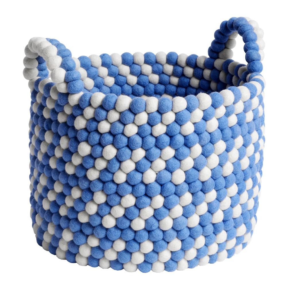 Hay - Förvaringskorg med Handtag 32 cm Blue Dash