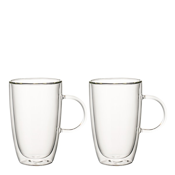 Artesano Hot Beverages Glasmugg XL 45 cl 2-pack