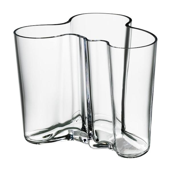 Iittala Alvar Aalto Collection Vase 12 cm Klar