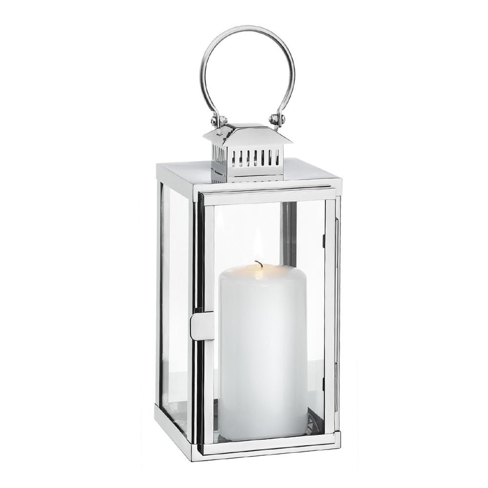 Cilio - Torre Lykta 31 cm  Silver