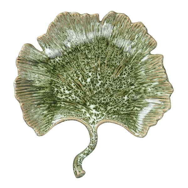 Ginkgo Fat Ginkolöv 28 cm Grön
