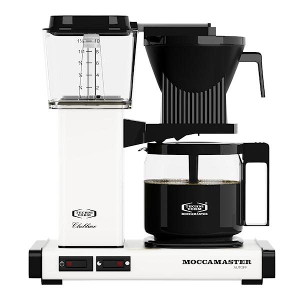 MoccaMaster MoccaMaster Kaffebryggare Vit