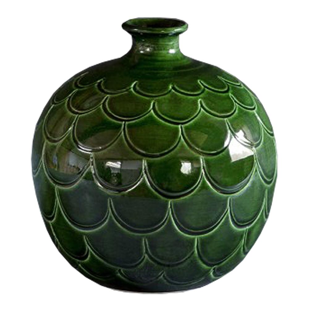 Bergs Potter - Misty Vas rund 20 cm Grön emerald
