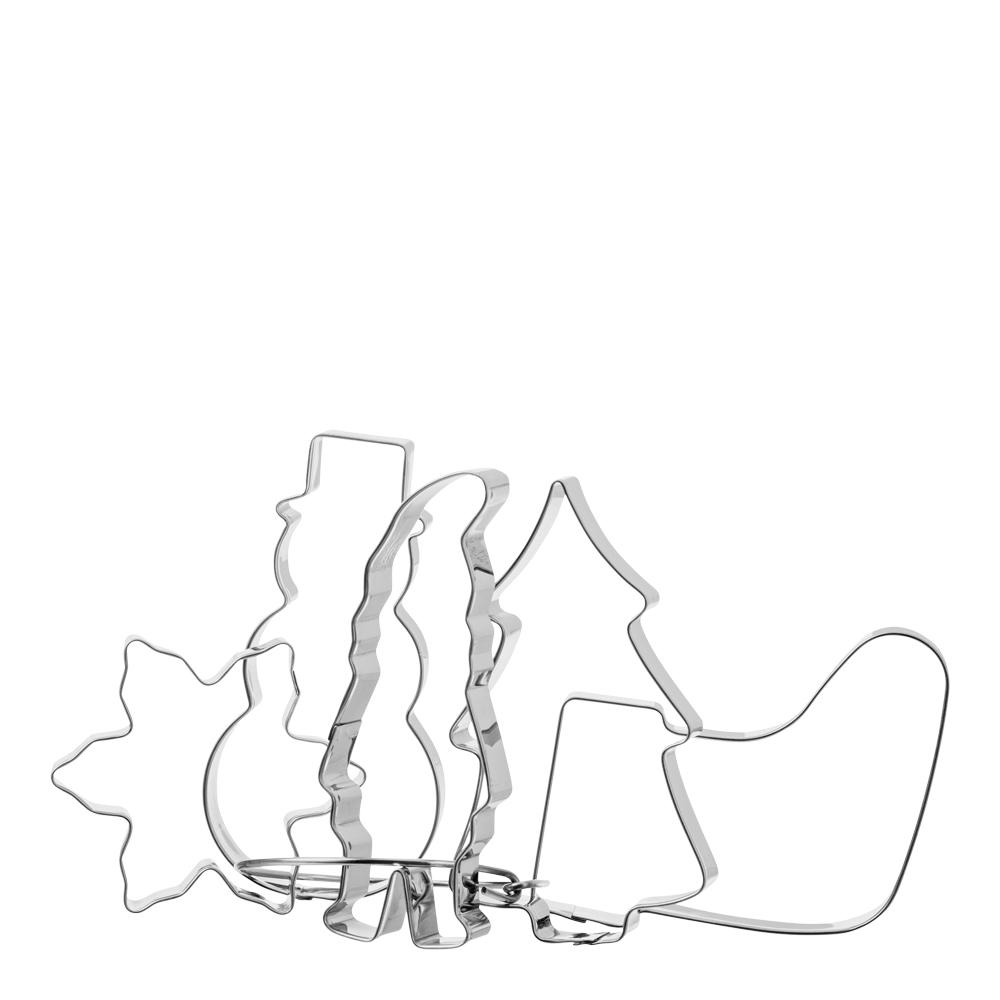 GastroMax - Kakmått i ring 5 stycken