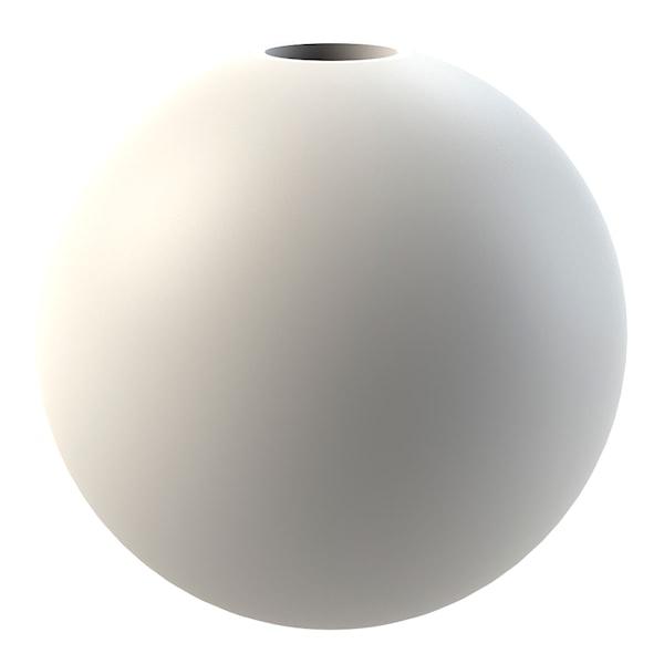 Cooee Ball Lysestake 8 cm Hvit