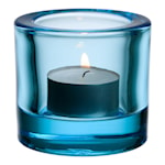 Kivi Ljuslykta 6 cm Ljusblå