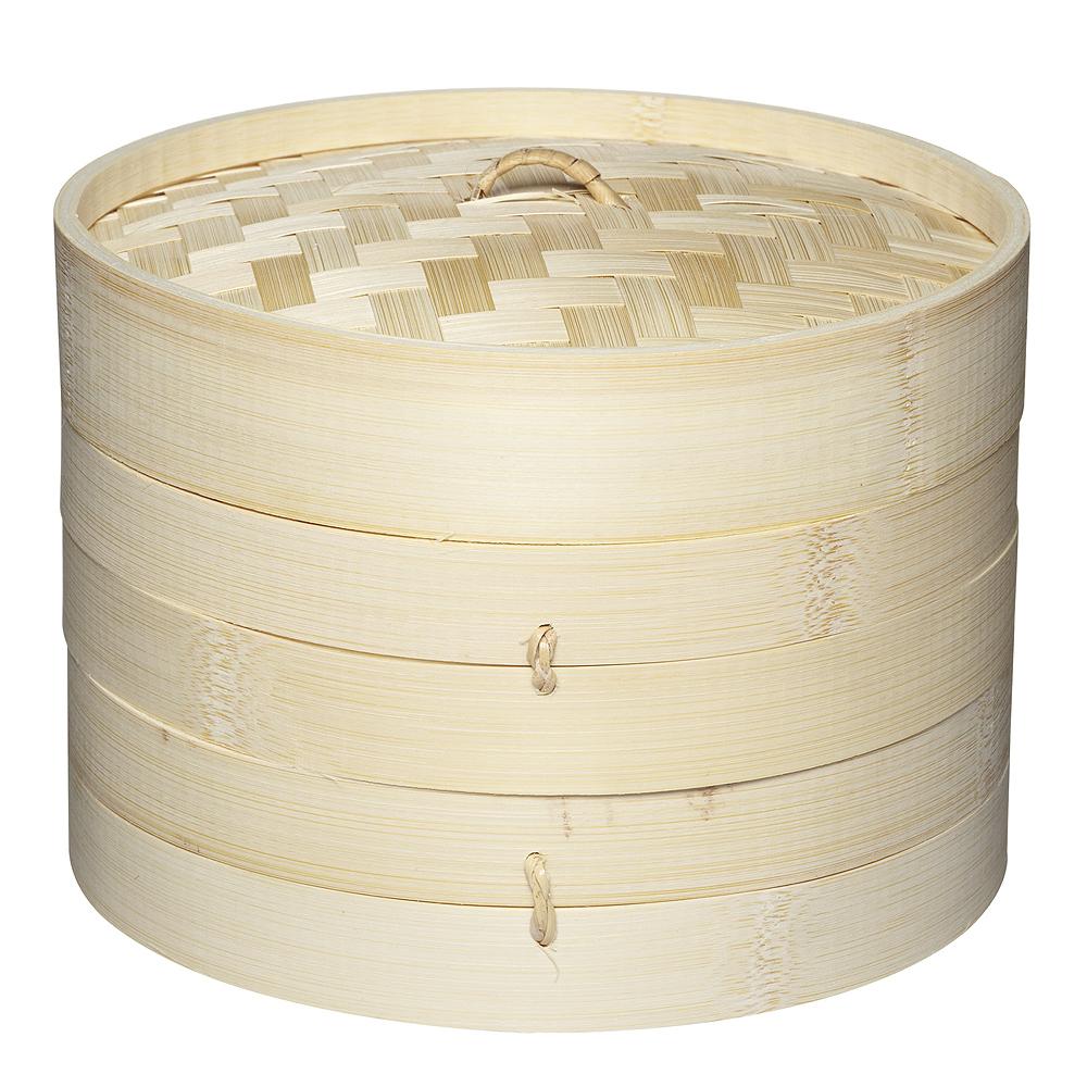 Kitchen Craft - Ångare 20 cm Bambu
