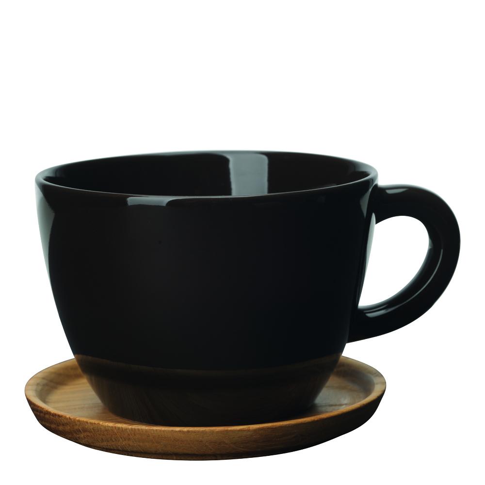 Höganäs Keramik - Mugg/träfat 50 cl Bark
