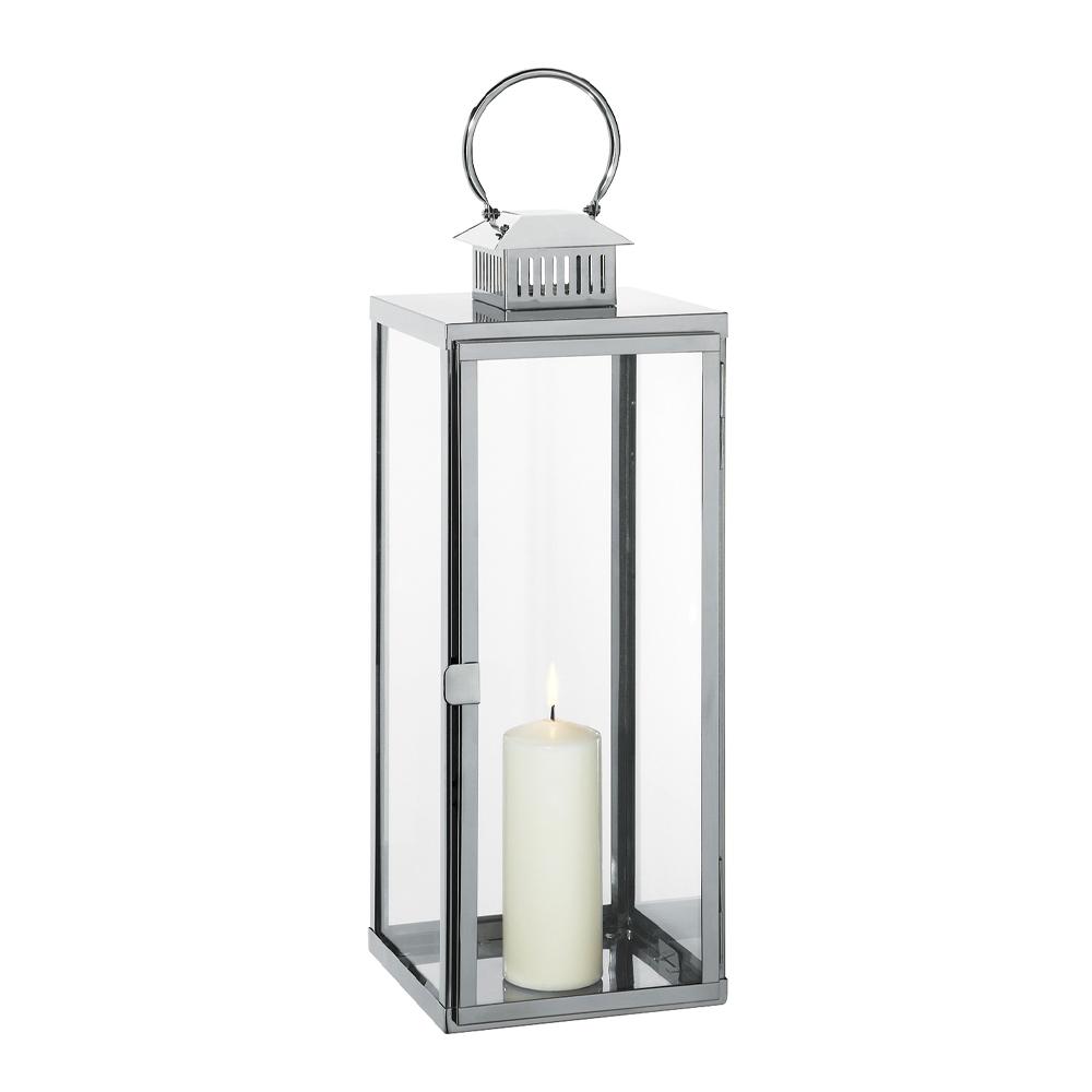 Cilio - Torre Lykta 65 cm  Silver
