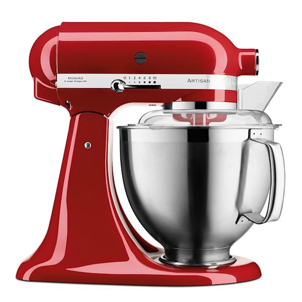 KitchenAid Artisan Kjøkkenmaskin 4,8 L + Tilbehør Rød