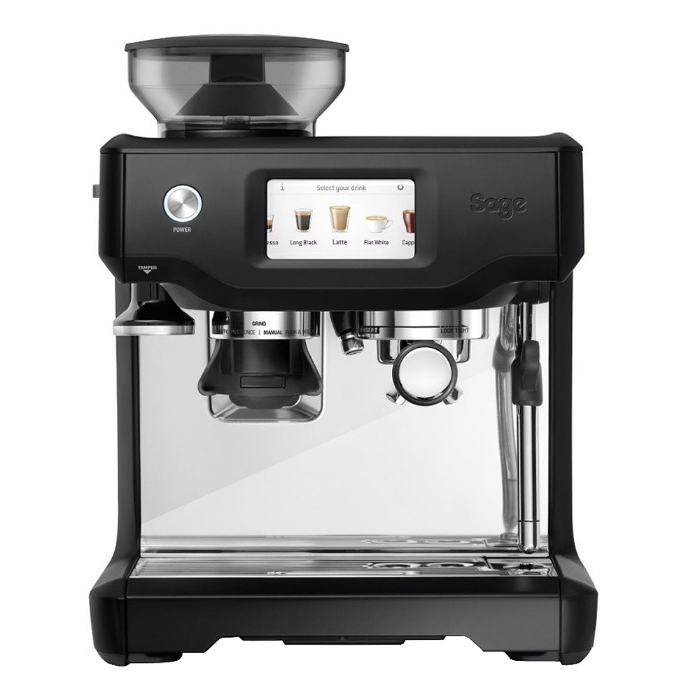 Sage - The Barista Touch Espressomaskin Black Truffle