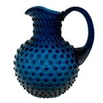 Hobnail Karaff 2 L Royal Blue