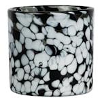 Calore Ljushållare 10x10 cm Svart/Vit