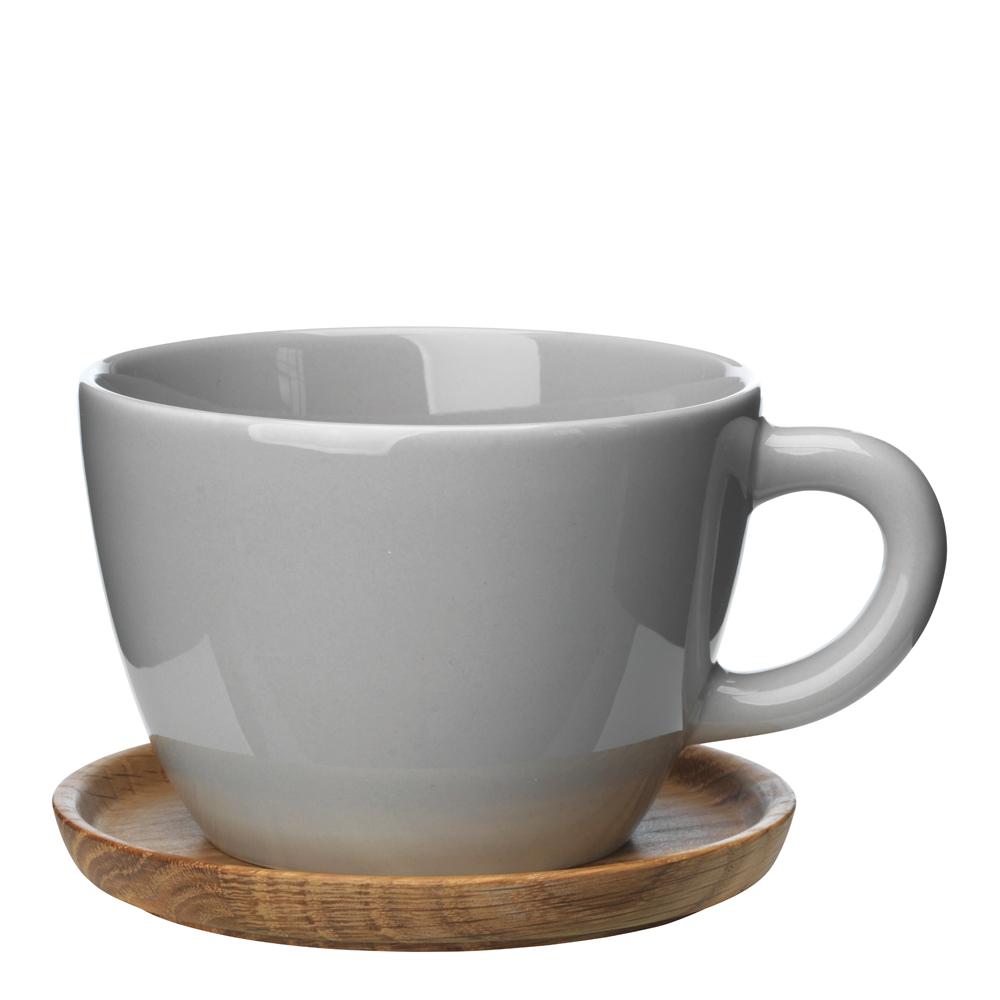Höganäs Keramik - Mugg/träfat 50 cl Kiselgrå
