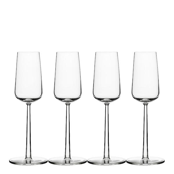 Iittala Essence Champagneglas 21 cl 4-pack