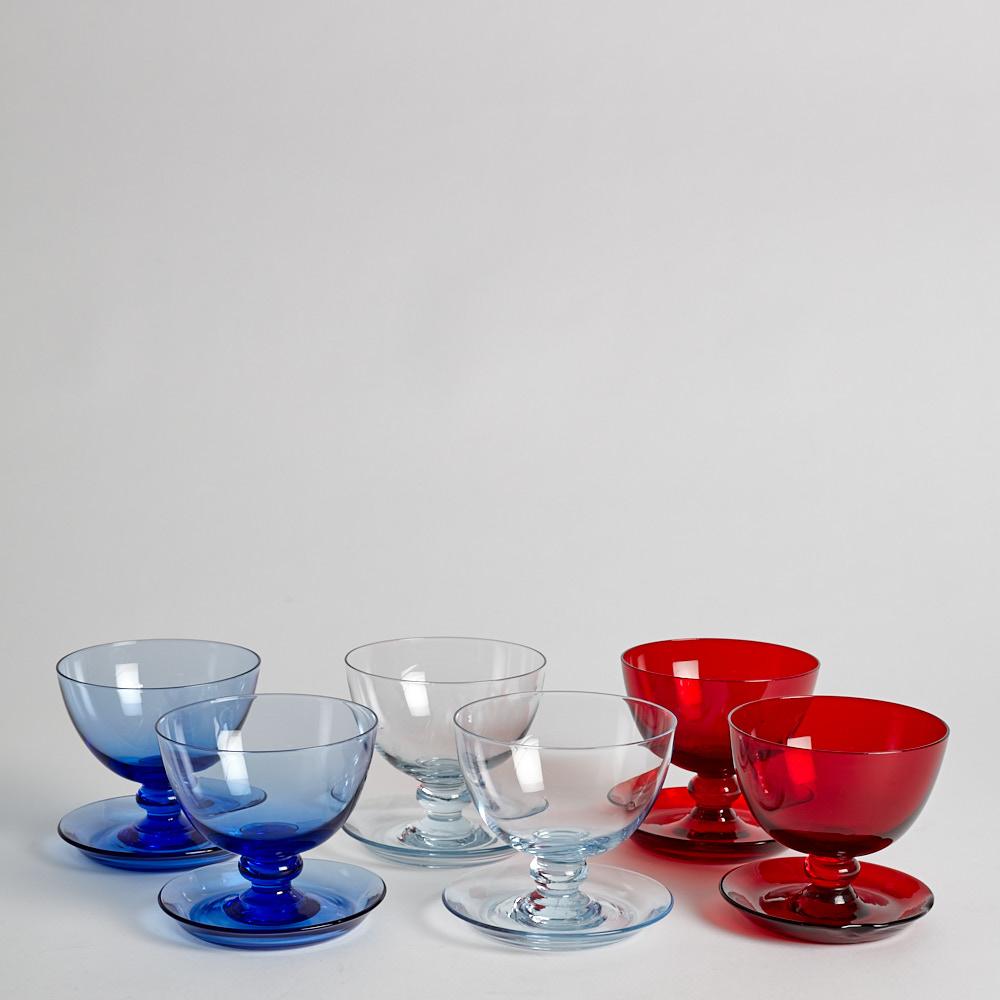 Reijmyre Glasbruk - SÅLD Dessertskålar 6 st
