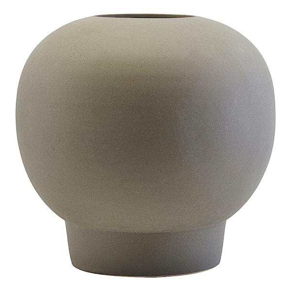 Bobble Vas Grå 22 cm