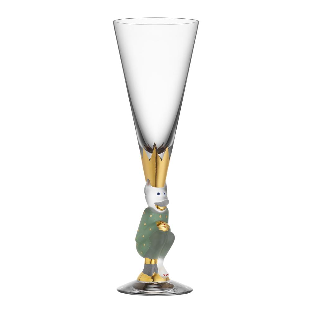 Orrefors - Nobel Champagnedjävul 19 cl Grön