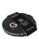 Glasunderlägg Love Gin 2-pack Guld
