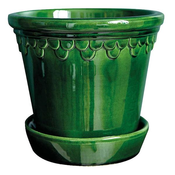 Köpenhavner Krukke/skål 16 cm Grønn
