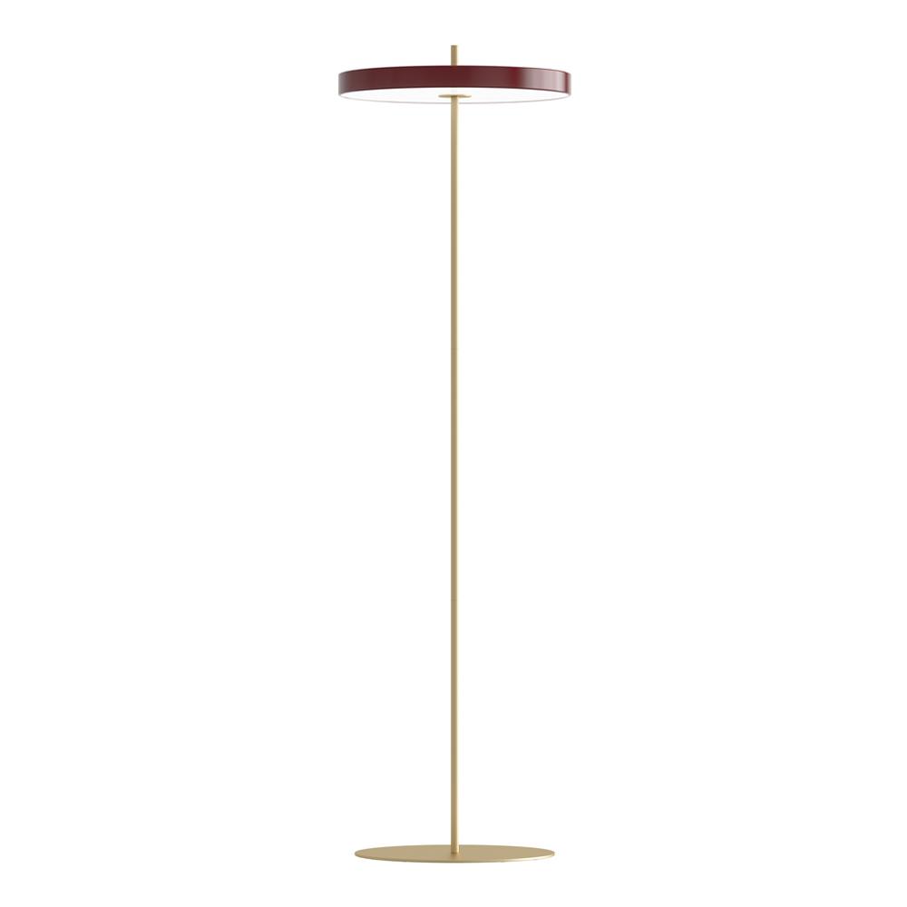 Umage - Asteria Floor Golvlampa 40x150 cm Rubinröd