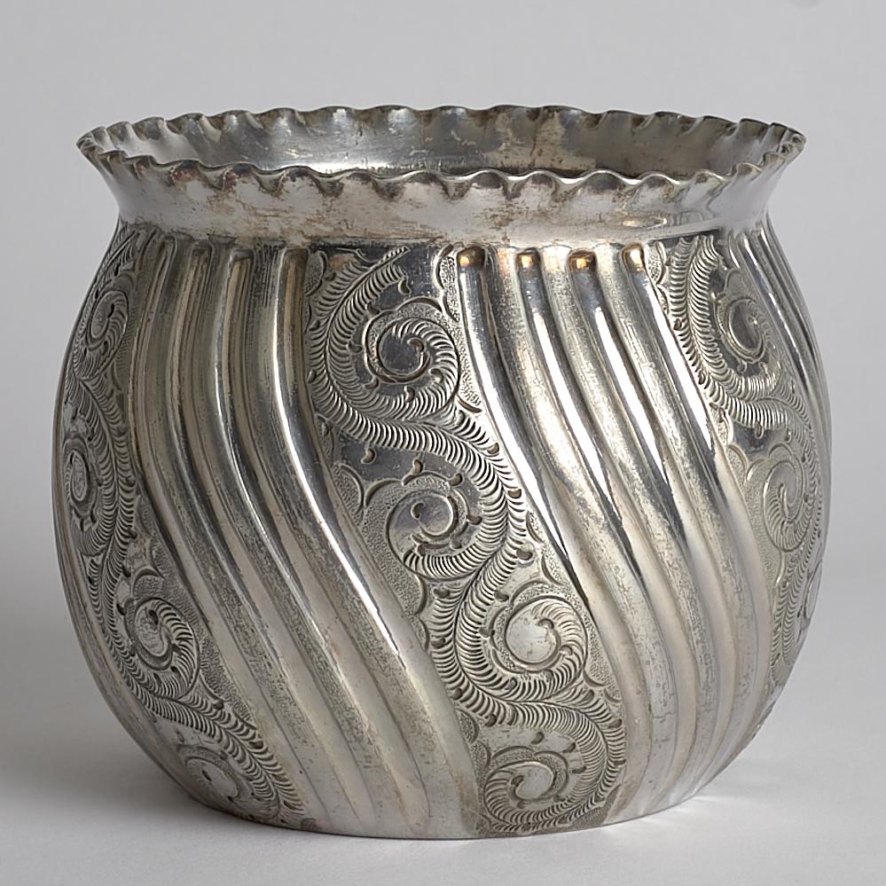 Vintage - SÅLD Kruka Silver
