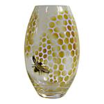 Honeycomb Vas 26 cm Gul