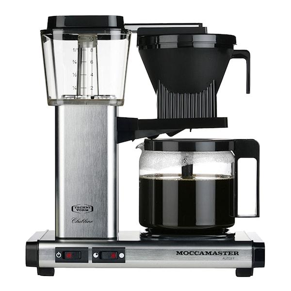 MoccaMaster MoccaMaster Kaffebryggare Brushed