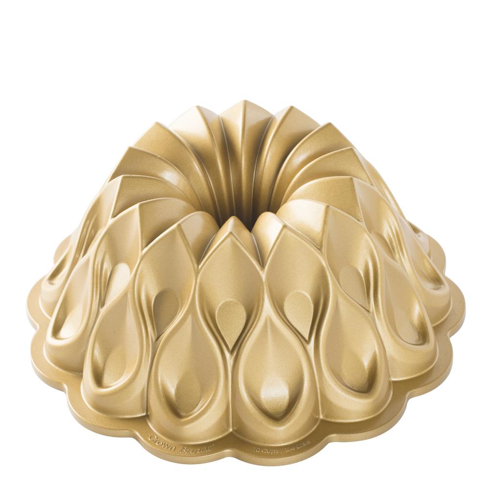Nordic Ware - Bakform Krona Guld