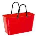 Hinza Väska Plast Stor Röd