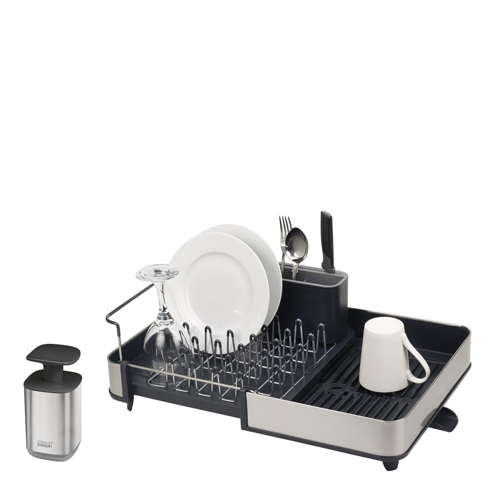 Joseph Joseph - Sink Diskställ med förvaring + Tvålpump