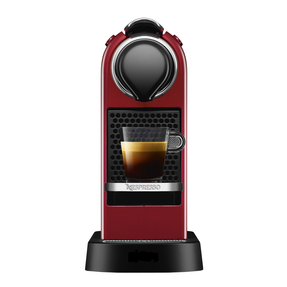 Nespresso - CitiZ Single Maskin 1 L  Röd