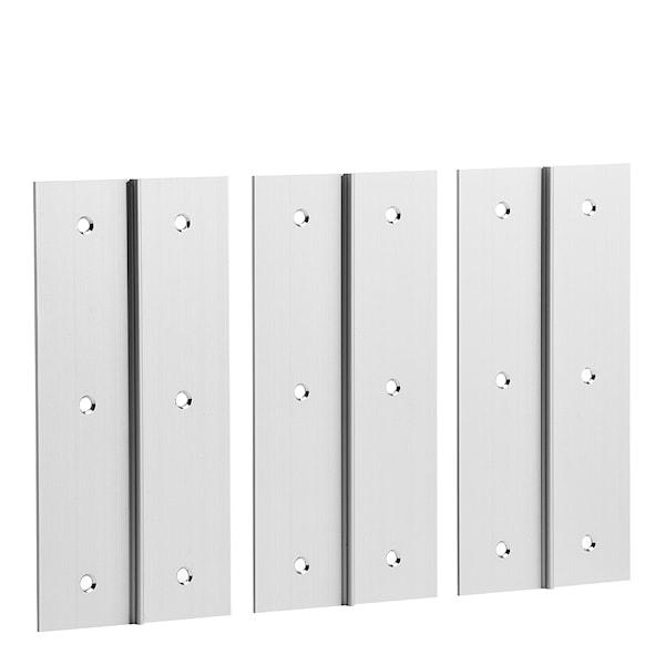 Hex Monteringsskena 3-pack Aluminium