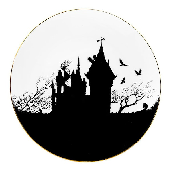 Perfect Plate The Ink House Silhouette 21 cm