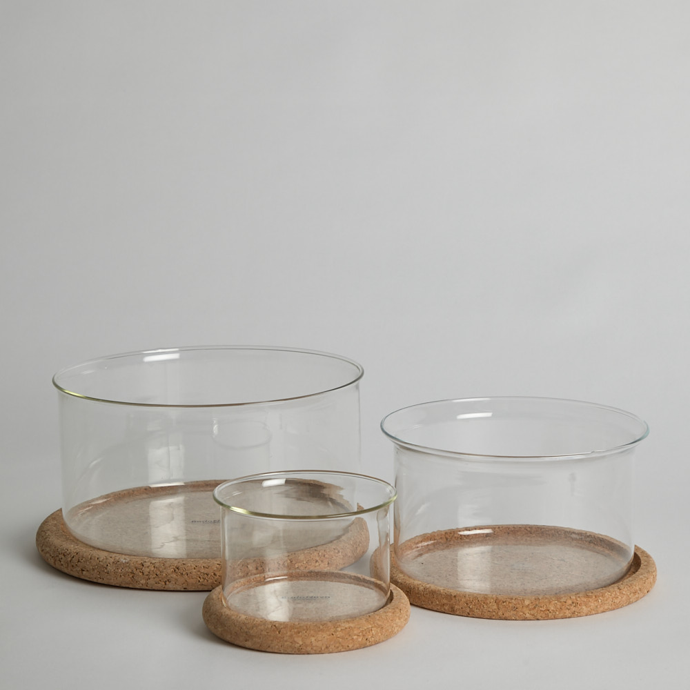 Boda Nova - Glasskålar med Korkunderlägg
