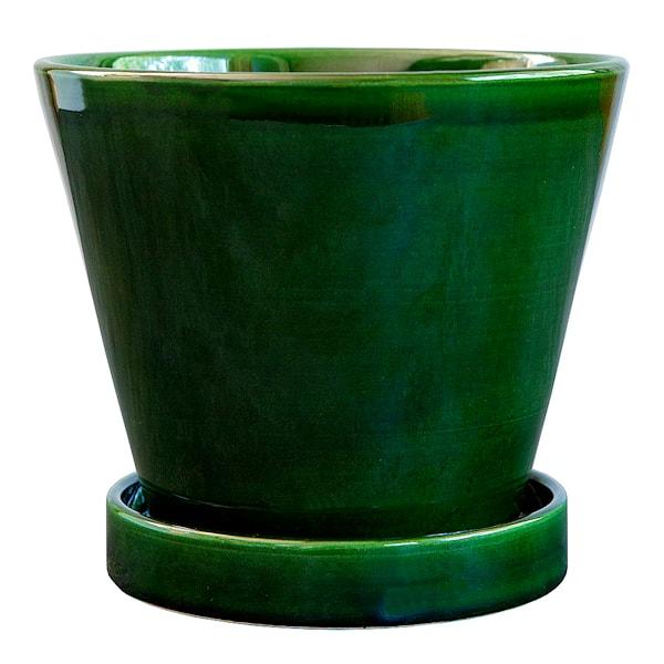 Bergs Potter Julie Kruka/Fat 13 cm Grön emerald