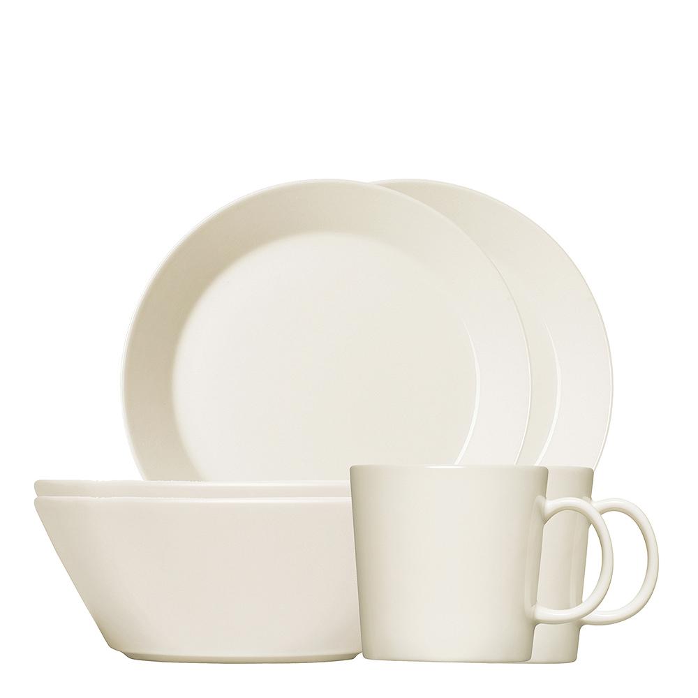 Iittala - Teema Frukostset 6 delar Vit