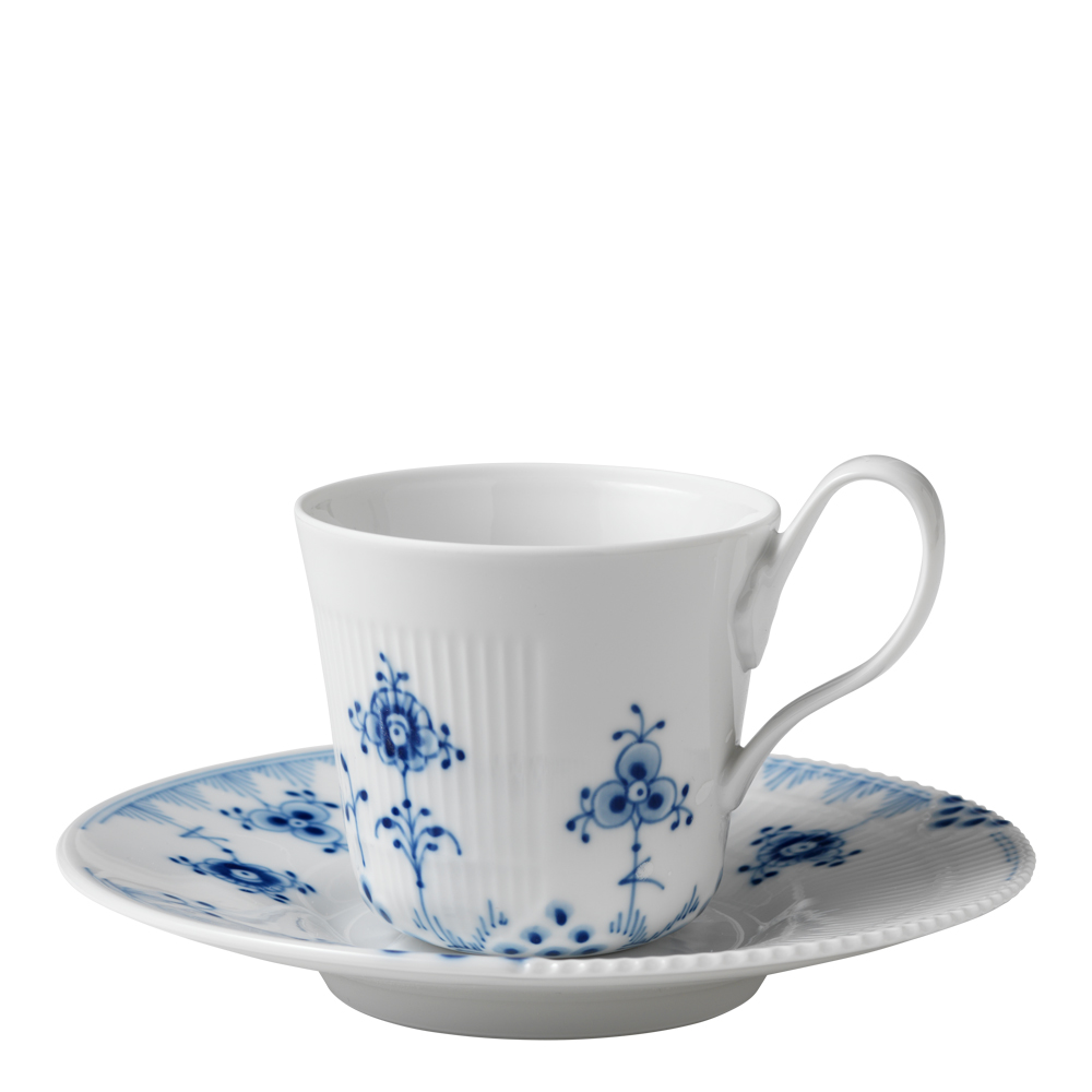 Royal Copenhagen - Blue Elements Kaffegods 25 cl hög hänkel