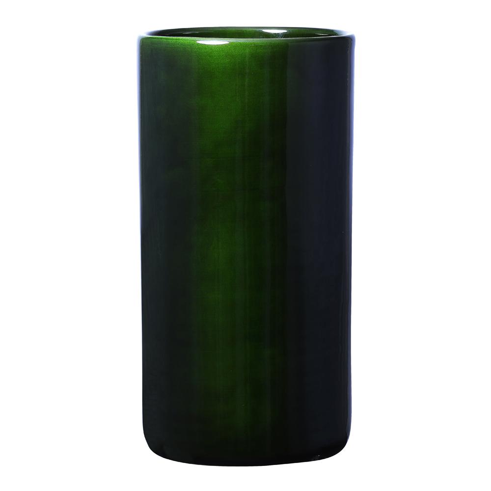 Bergs Potter - Oak Vas 40 cm Grön emerald